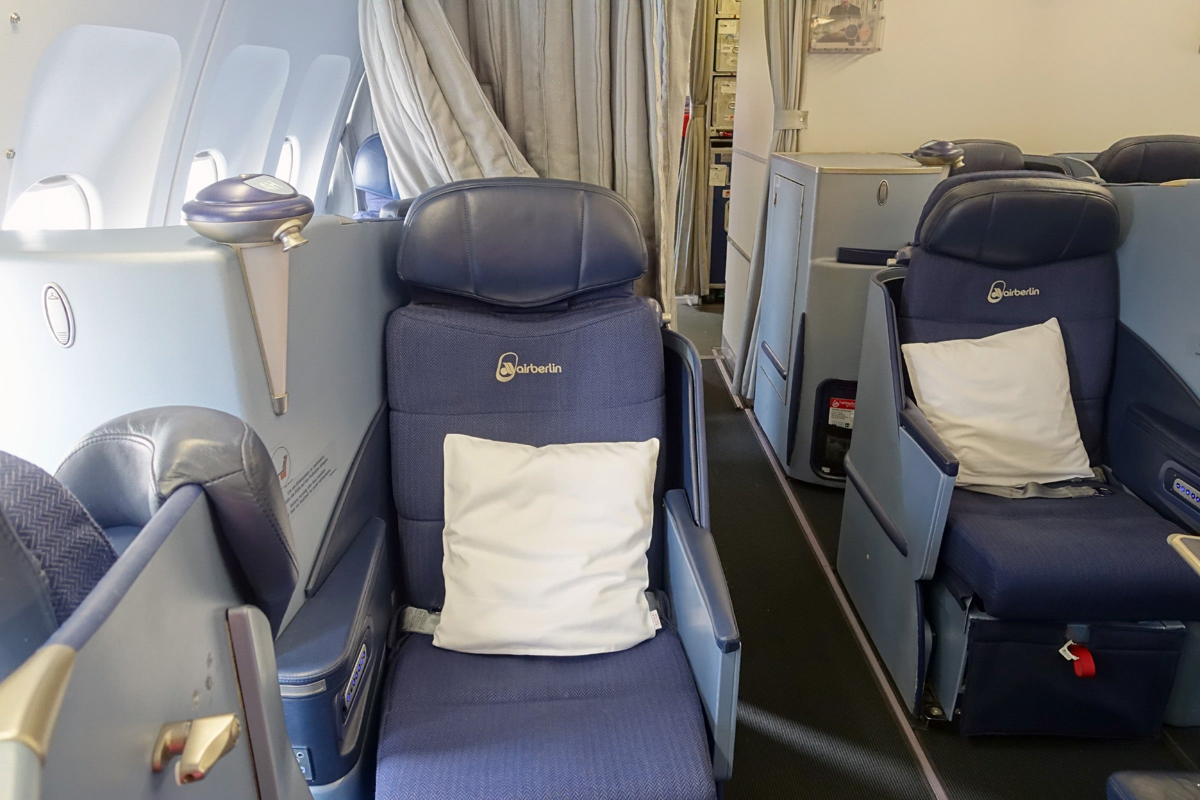 Review Air Berlin A330 Business Dusseldorf To New York