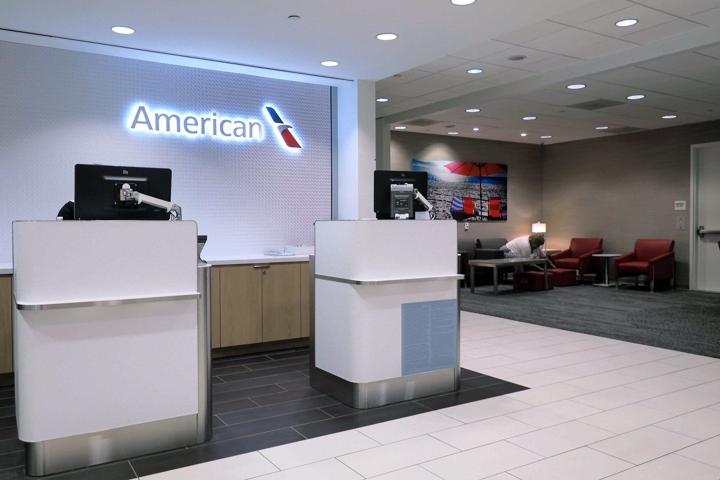 Review American Airlines Admirals Club Lax Terminal 5