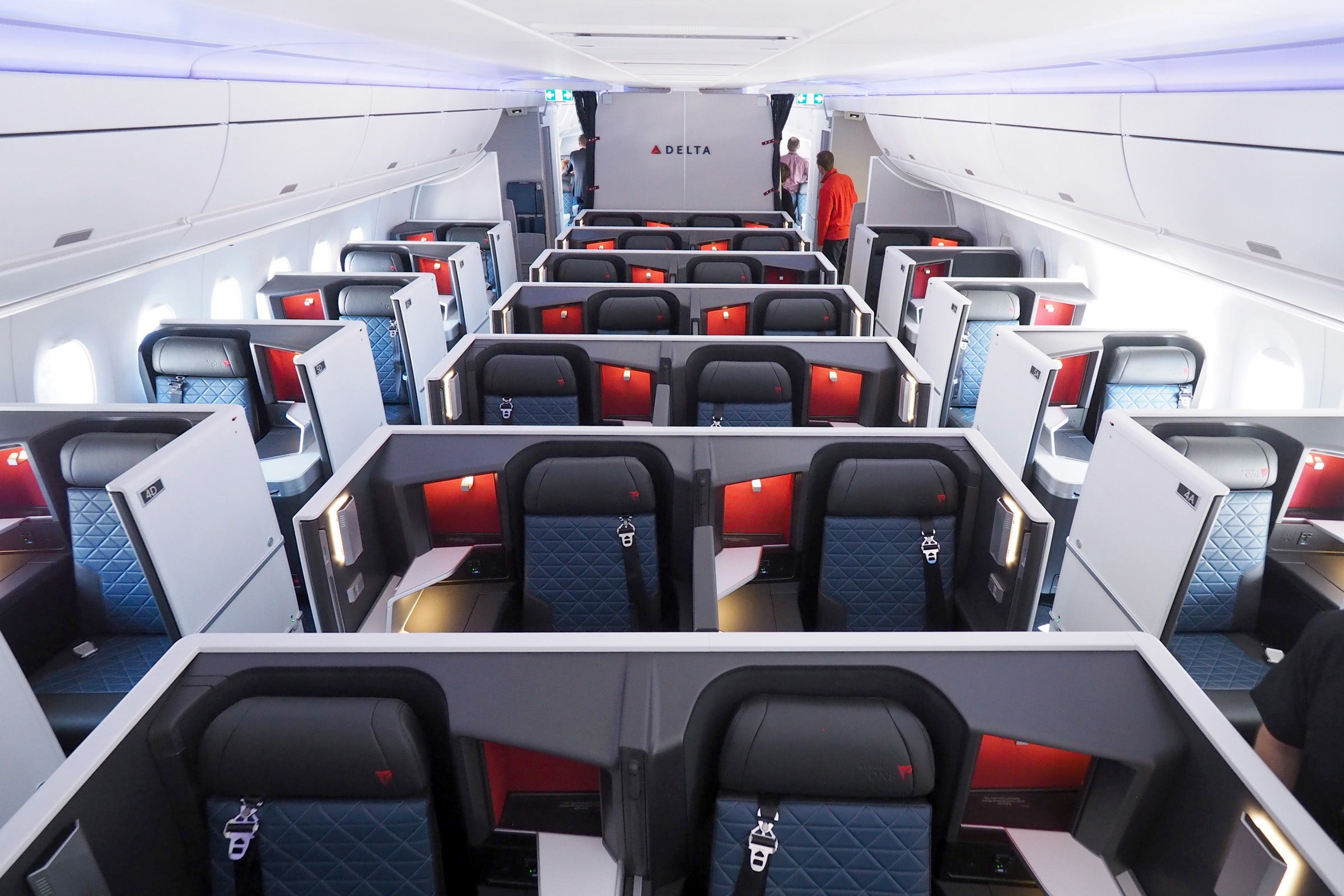 Touring Business Premium Select And Coach On Deltas A350