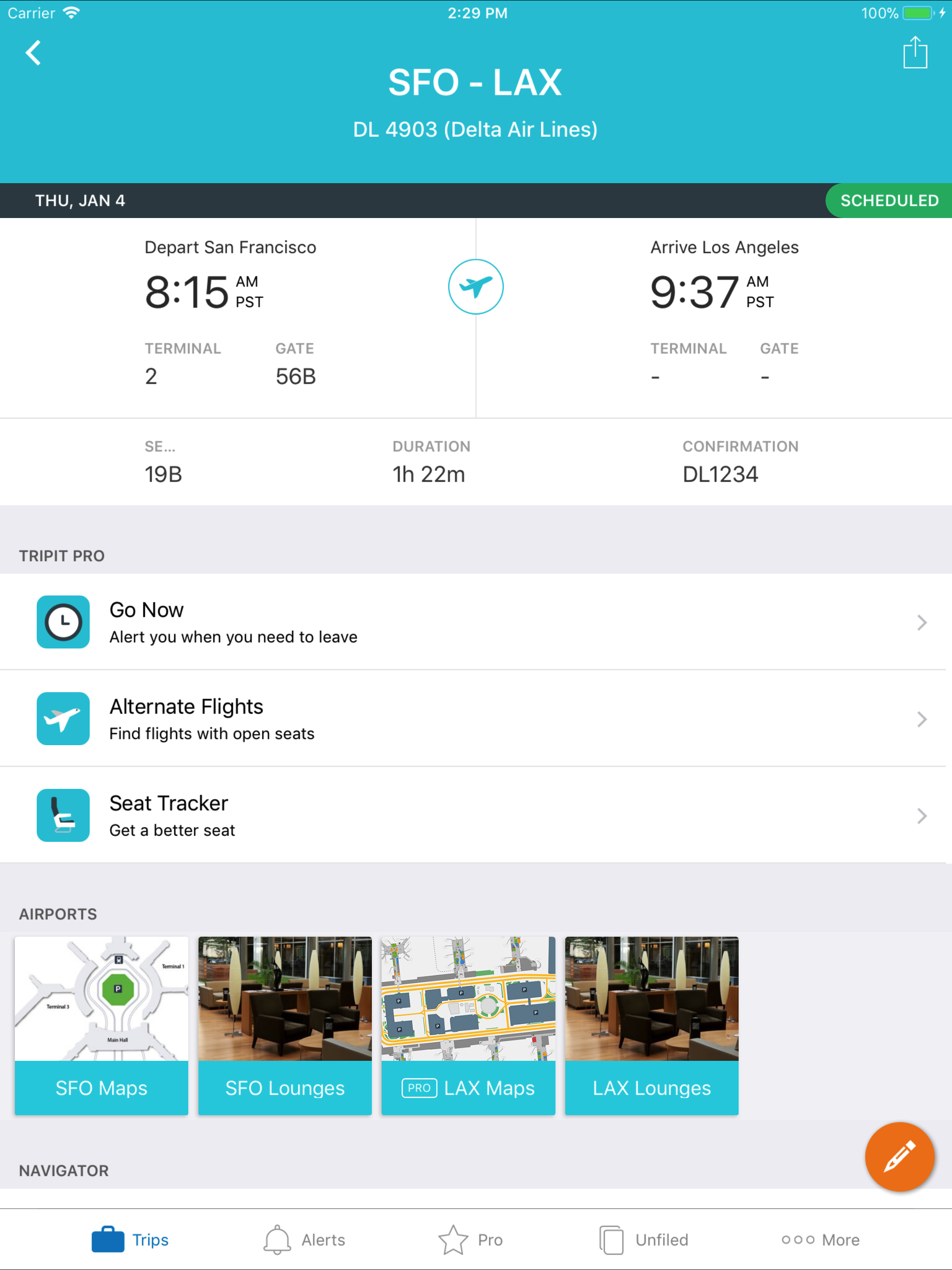 TripIt Updates Its iPad App for Travelers On the Go