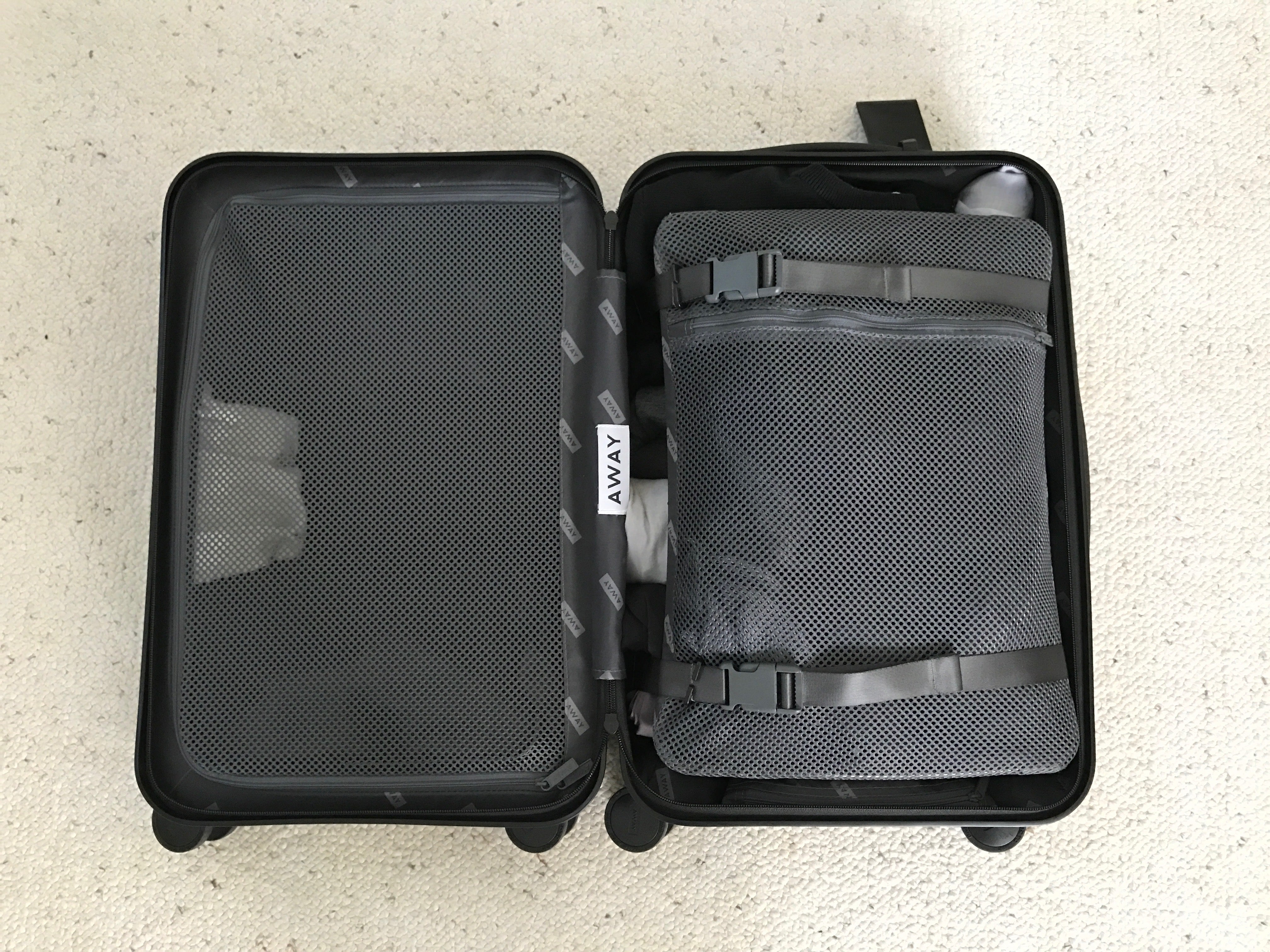 Luggage Review  The Away Carry-On 05f59b3a43047