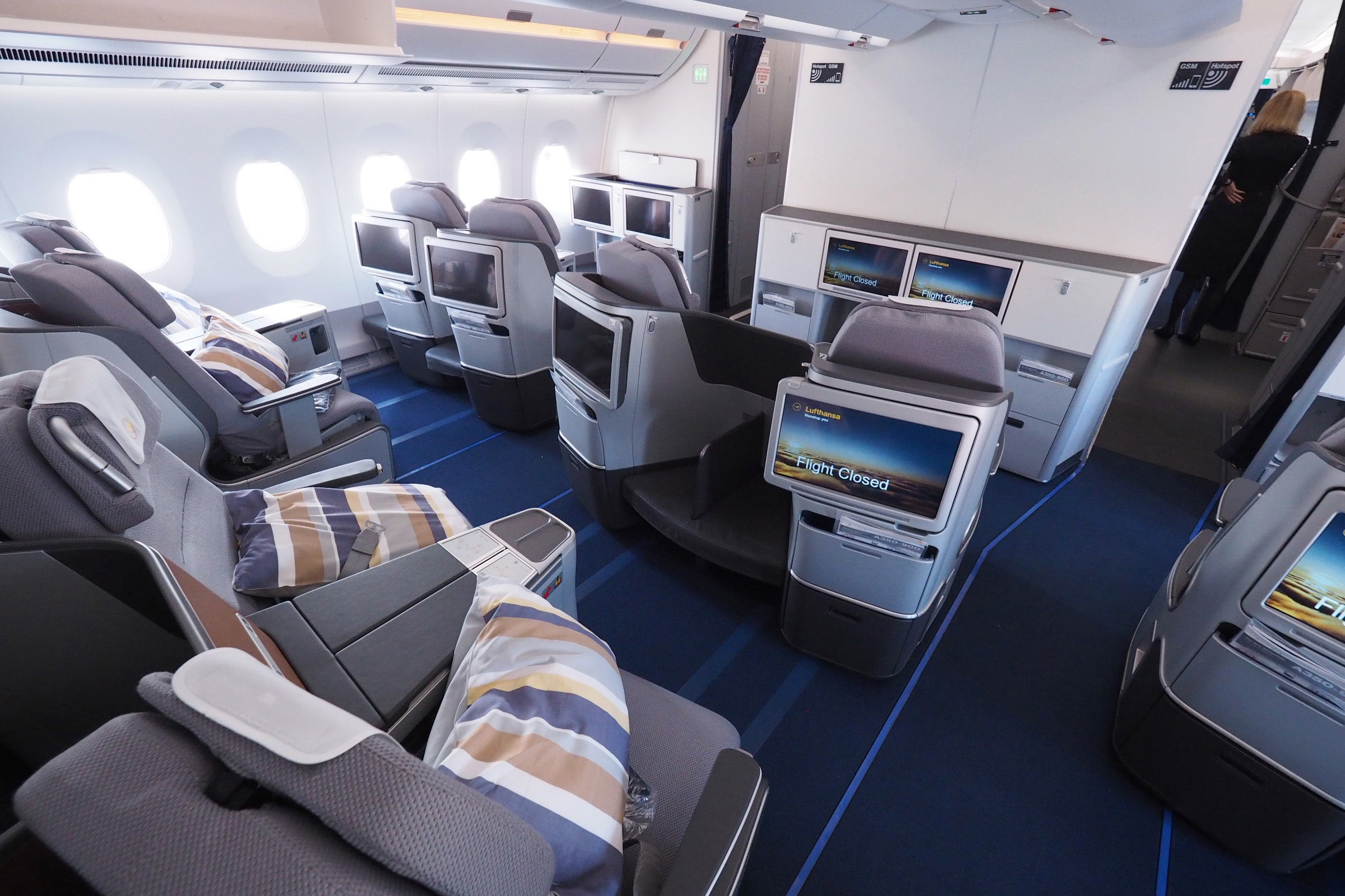 Review Lufthansa Airbus A350 Business Class