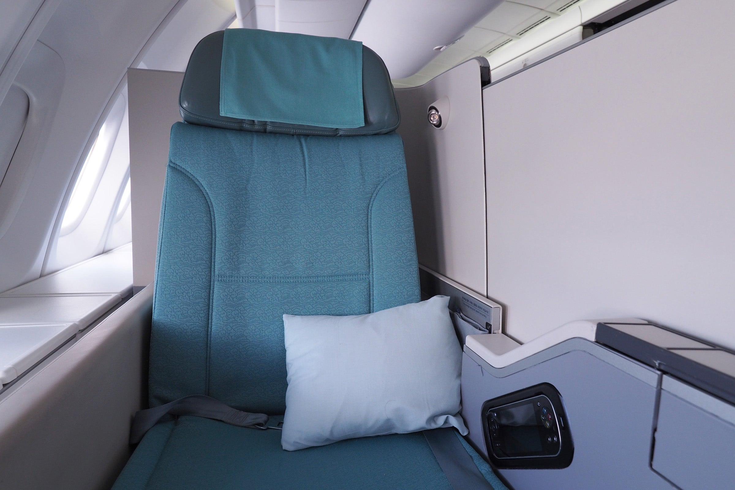 Review: Korean Air (Boeing 747-8) Business Class