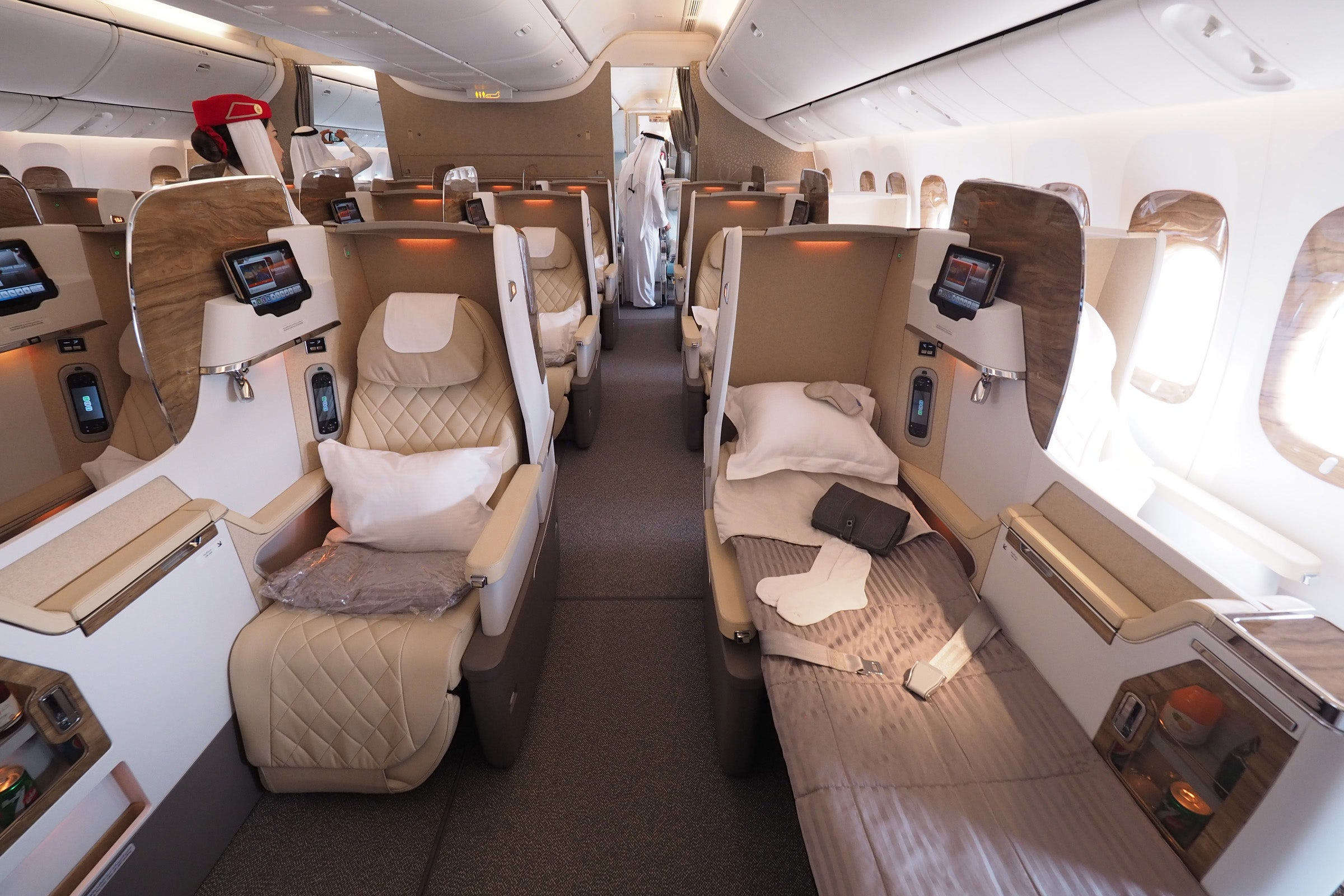 The Good News Is That This Final Emirates Business Class Seat Well See With A 2 3 Arrangement Once Airline Begins Taking Delivery Of