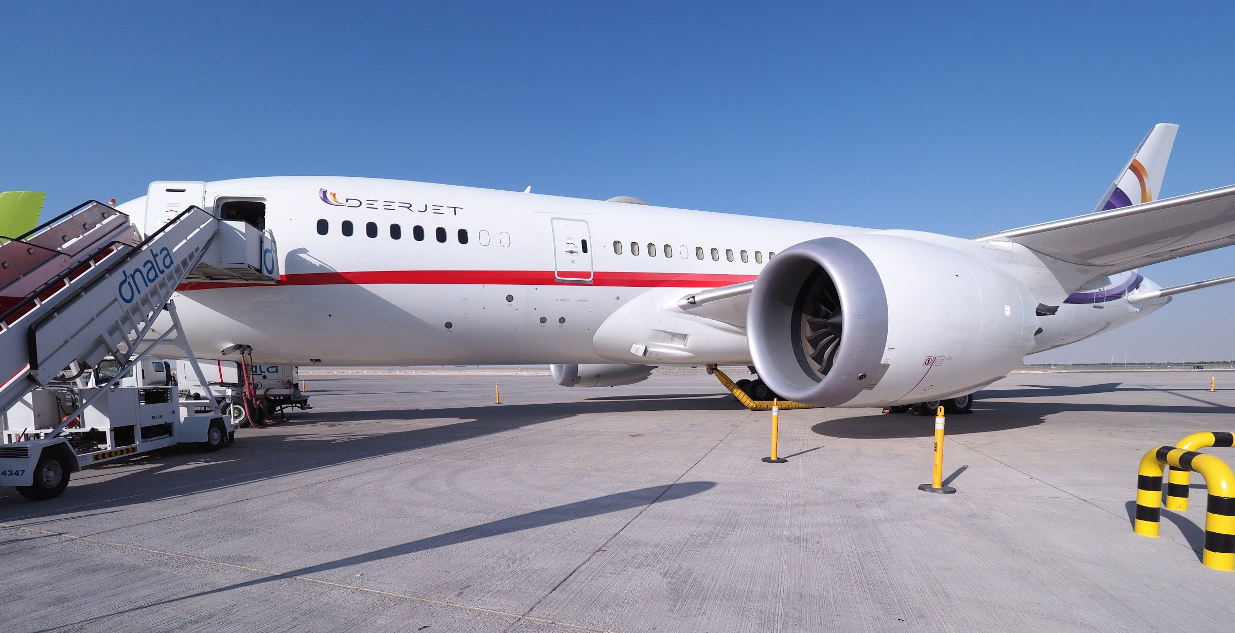 ... Regular Folks Like Myself To Experience One Of These Beauties, But  After Coming Across Operator Deer Jetu0027s Custom Boeing 787 8 At The Dubai  Air Show, ...