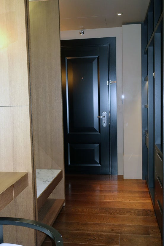 Hotel Room Two Way Mirrored Door