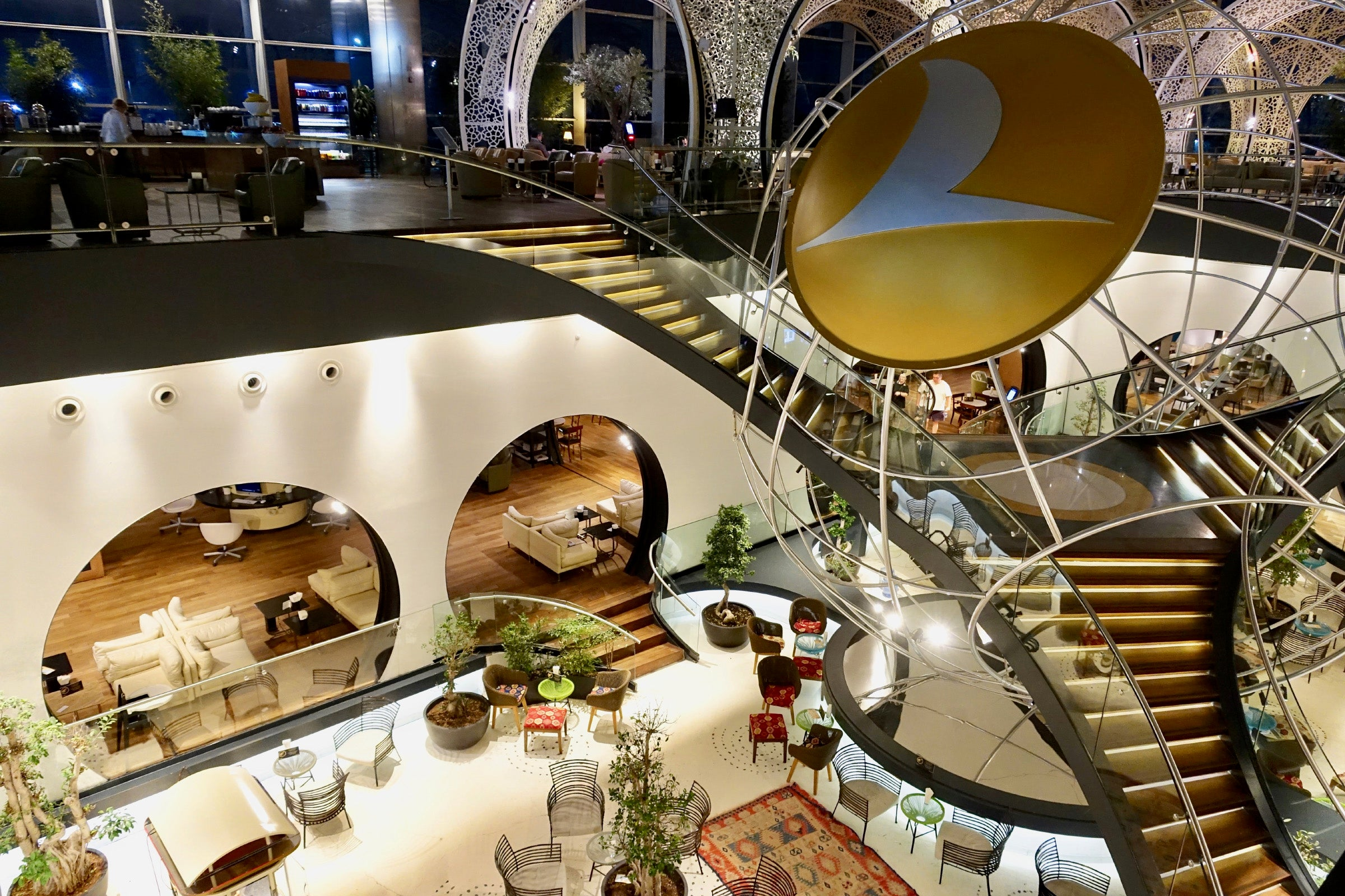 Review: Turkish Airlines Business-Class Lounge Istanbul