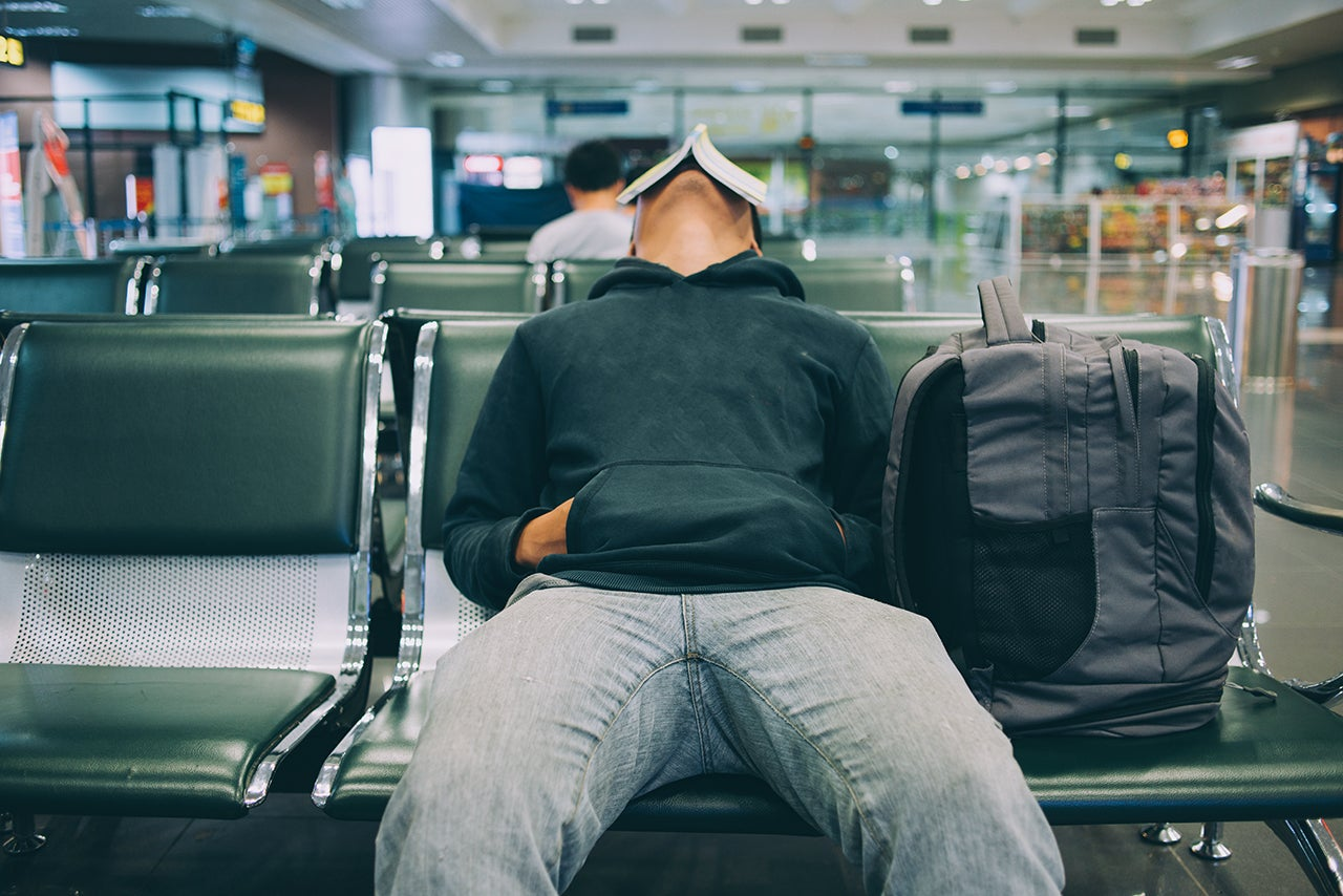 The man who was stuck at the airport for 18 years