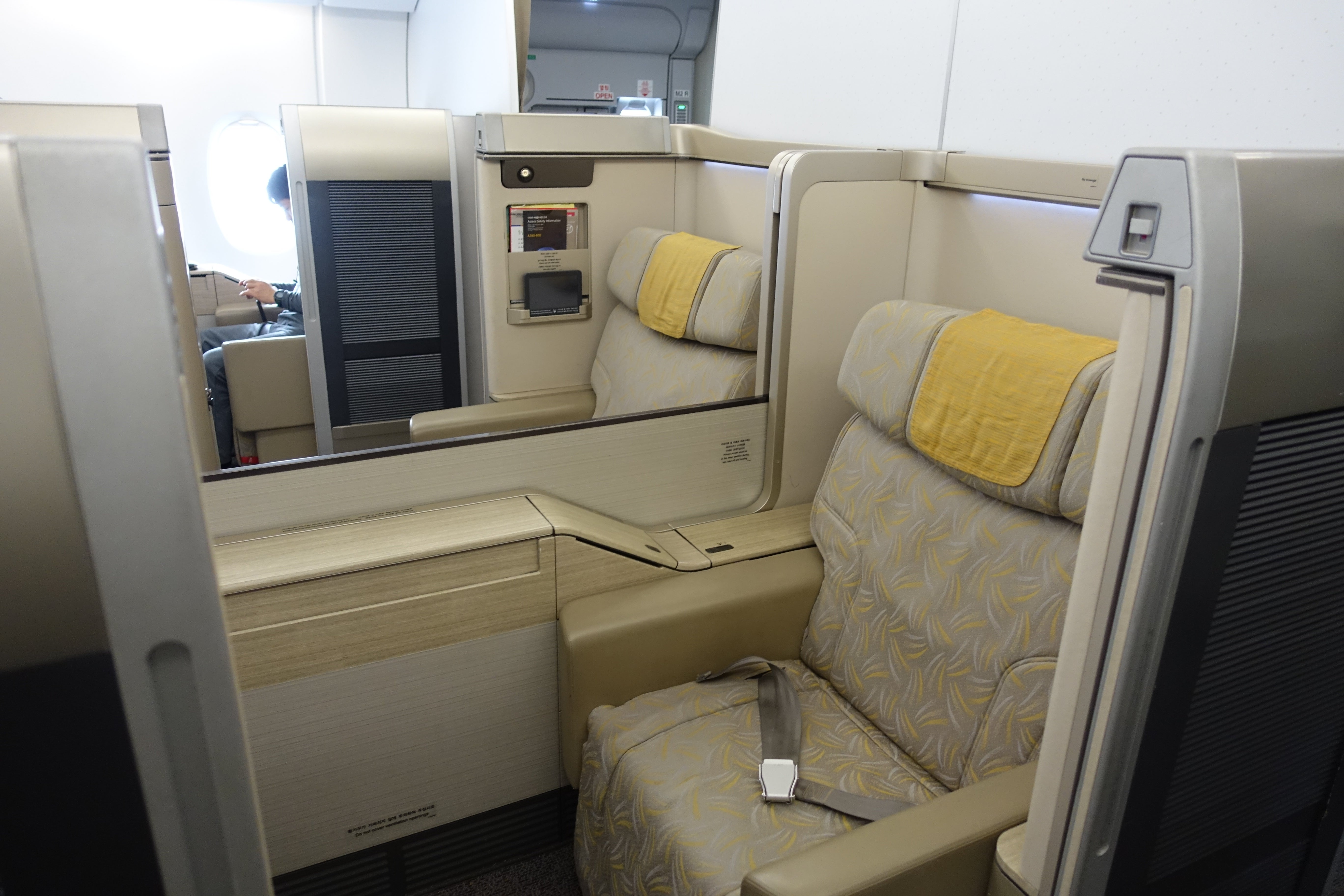 Review Asiana A380 First Class From Seoul to New York