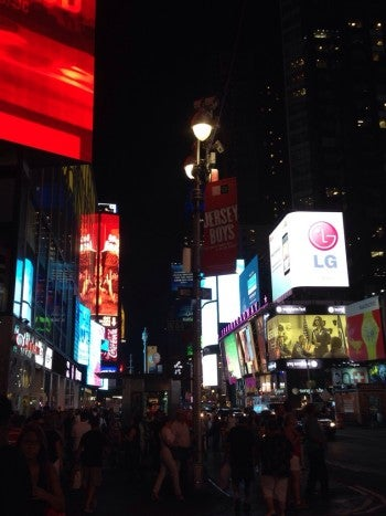 Nearby Times Square