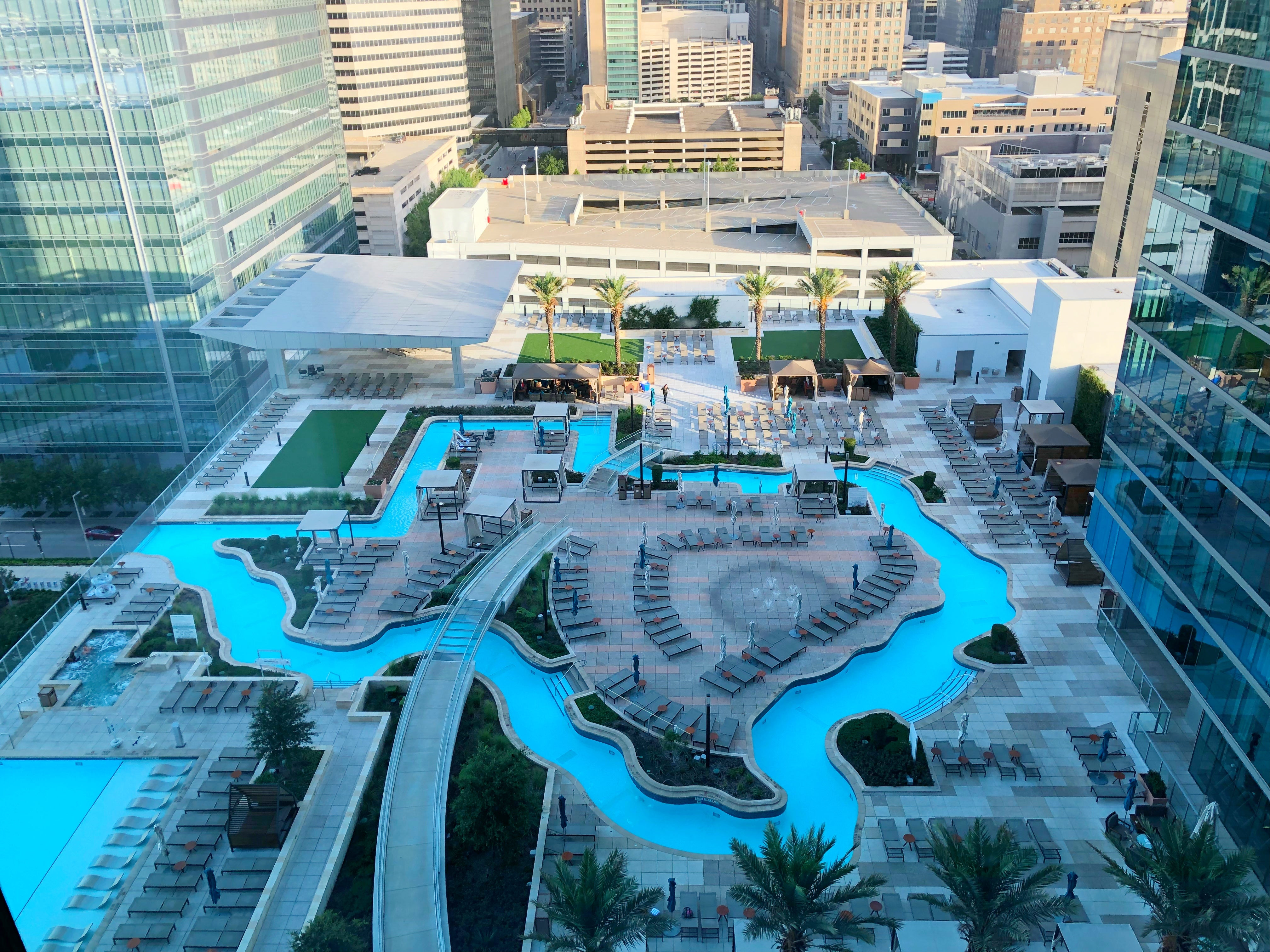 Float A Texas Shaped Lazy River In Downtown Houston The Points Guy