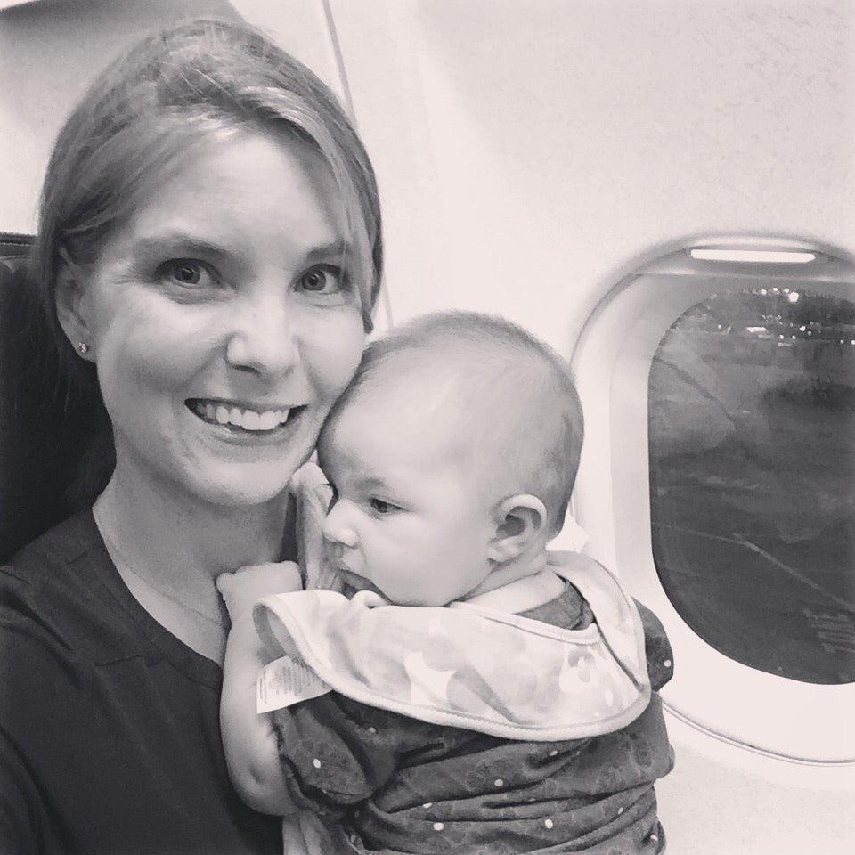 Flying with a three month old