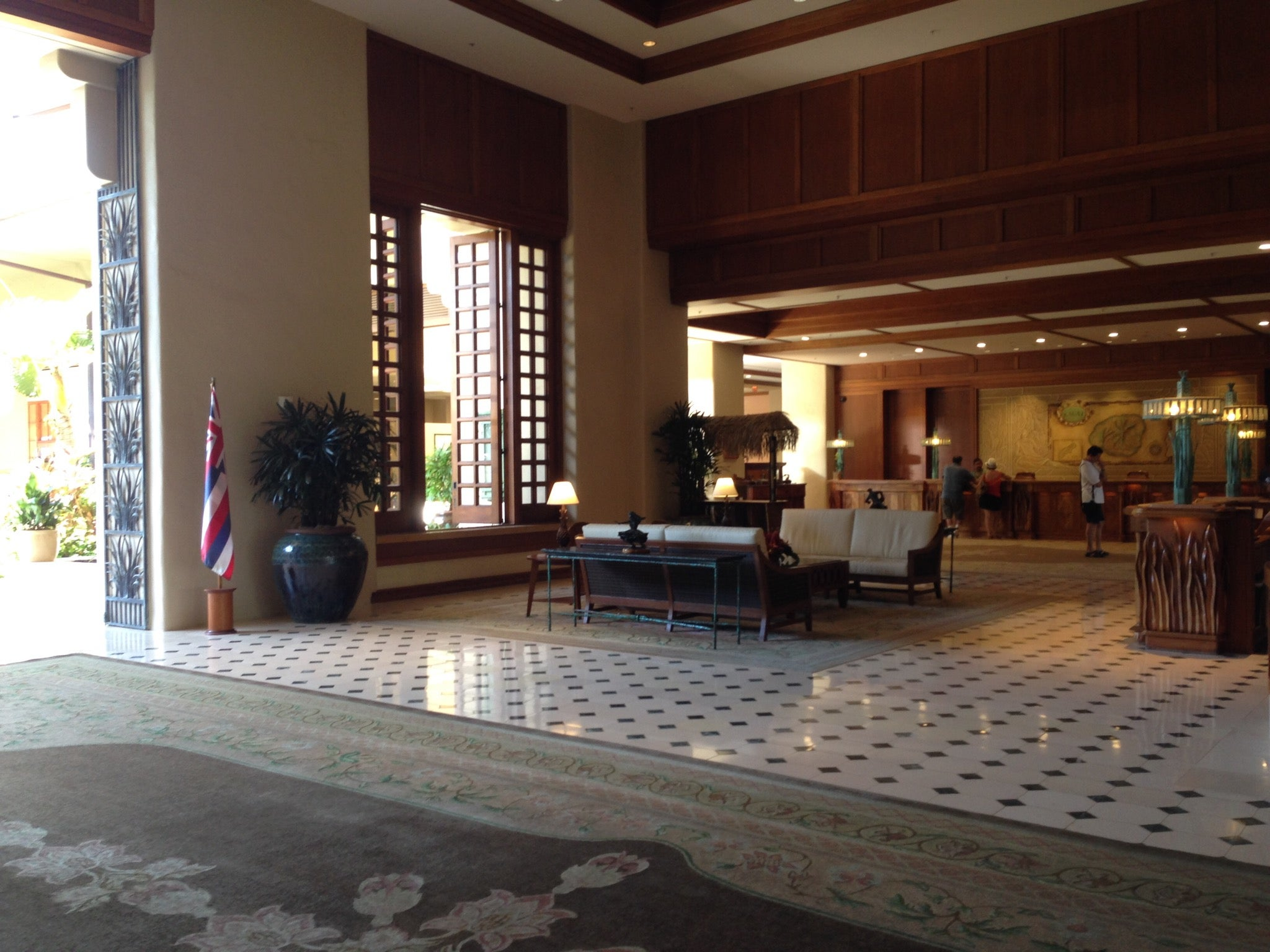 Grand Hyatt Kauai Lobby