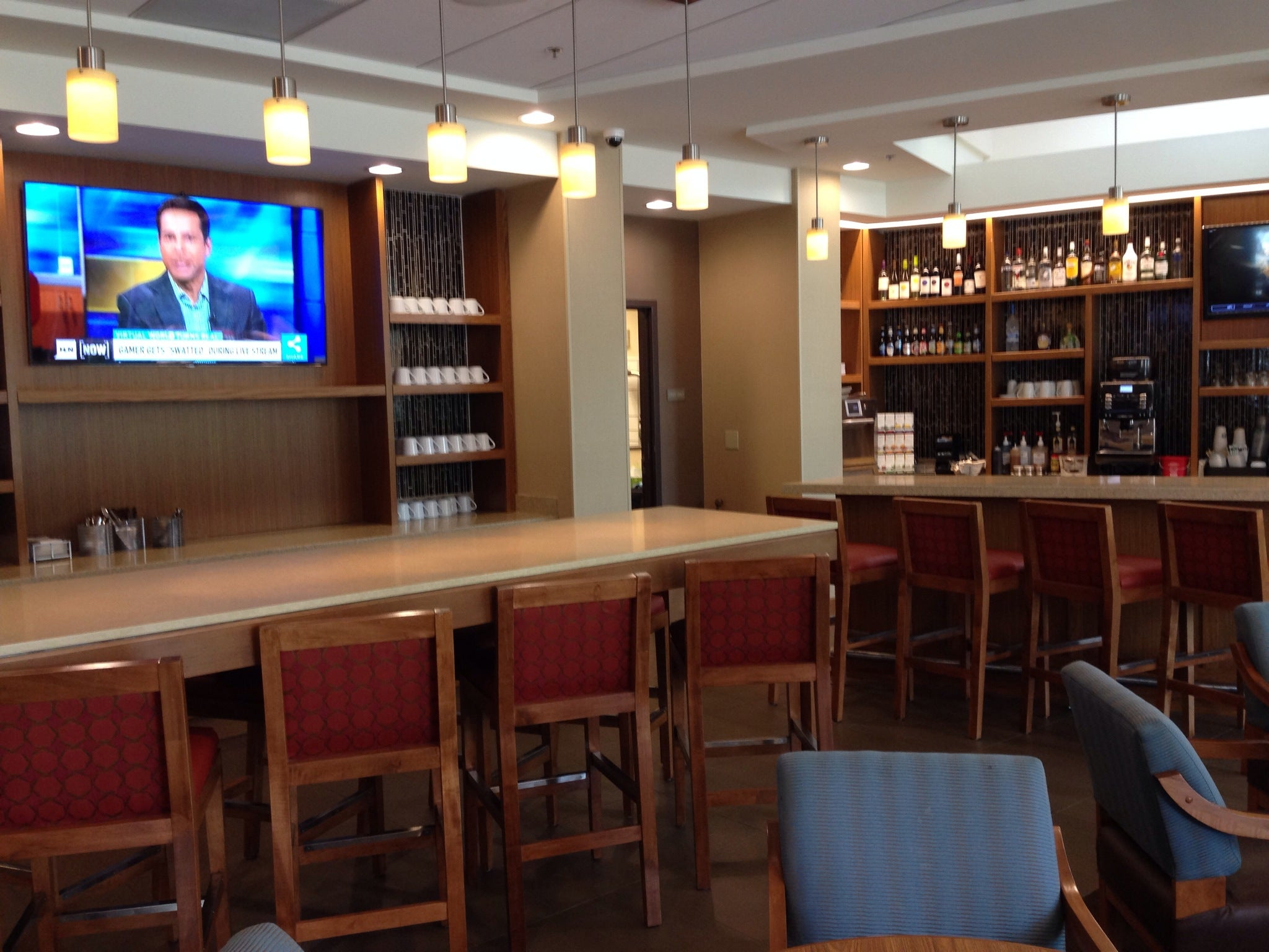 Hyatt Place Bar and Eating Area