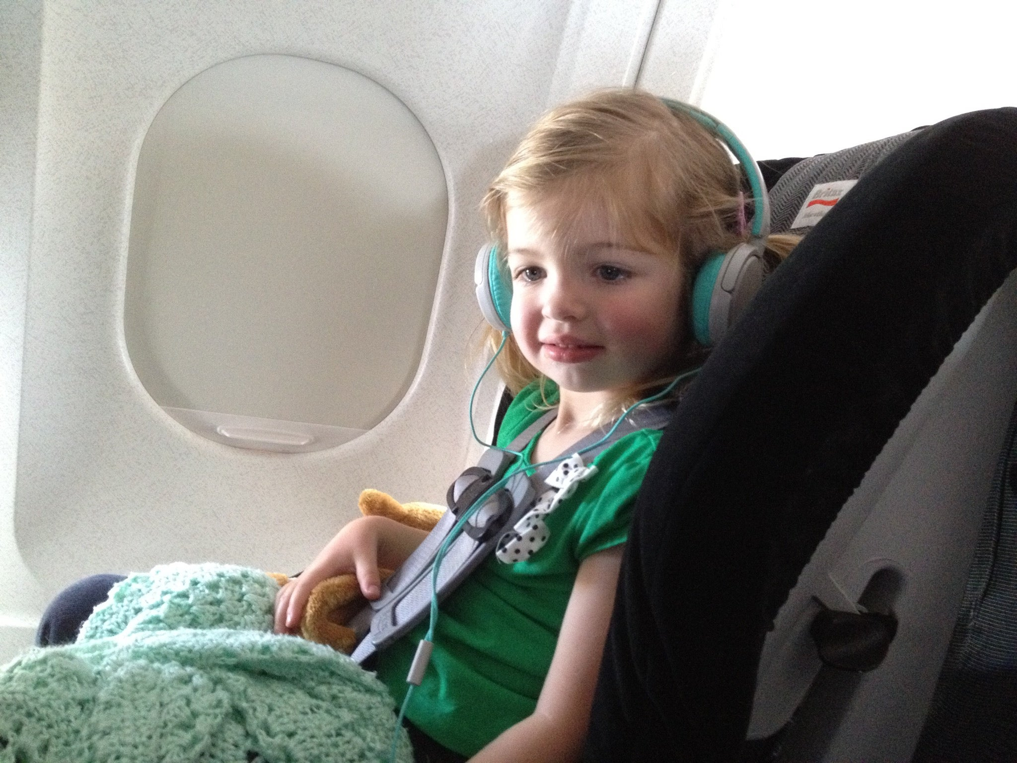 Flying With Our Big Britax Car Seat