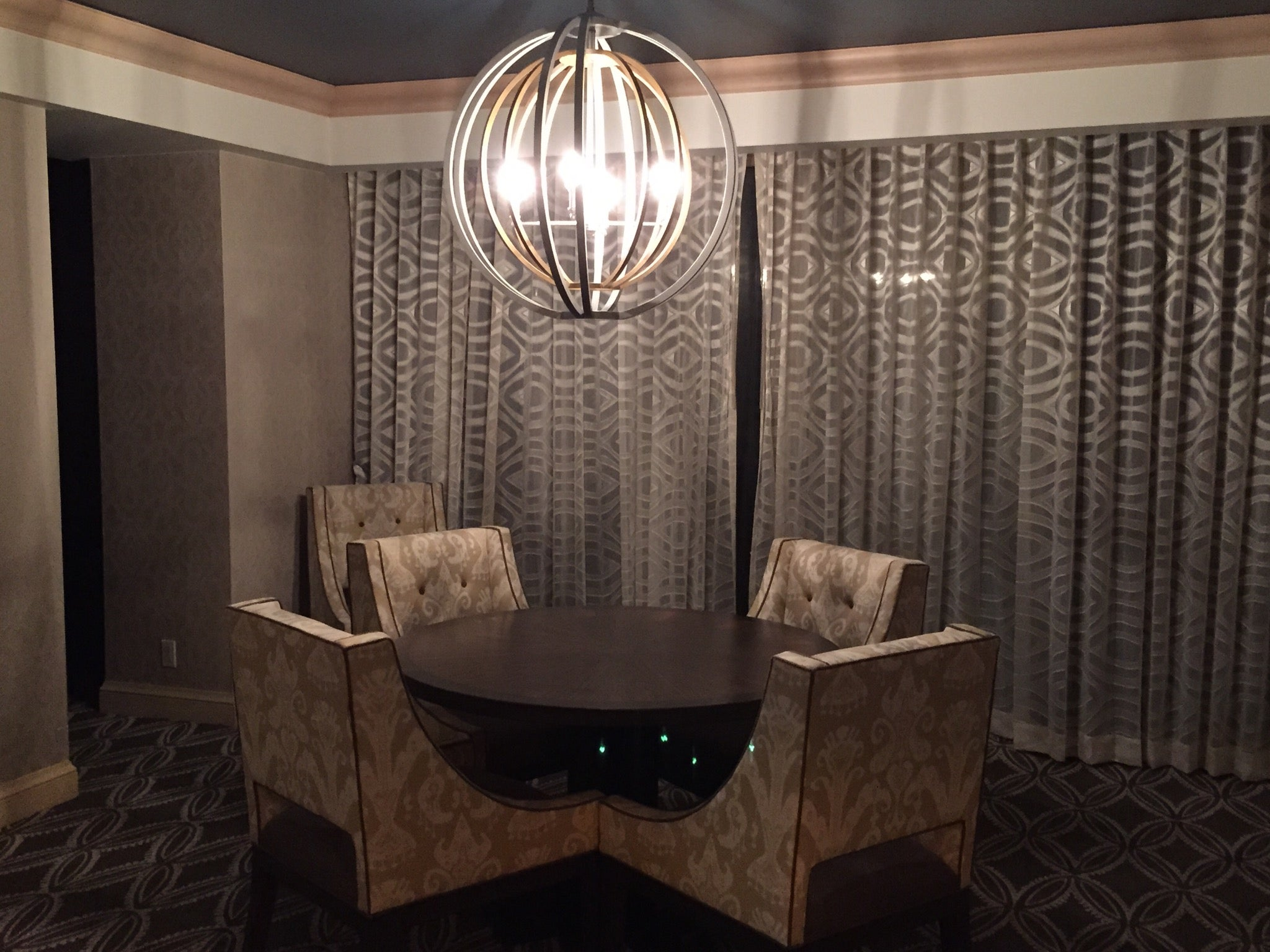 The Phoenician Executive Suite Dining Table