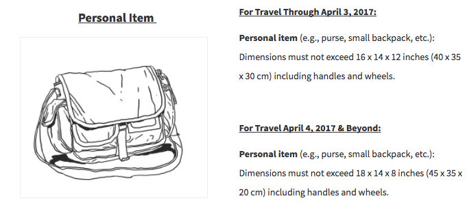 467aa0dace Just How Small is the New Spirit Airlines Free Personal Item ...