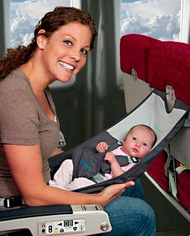 Baby Hammocks On A Plane Yay Or Nay The Points Guy