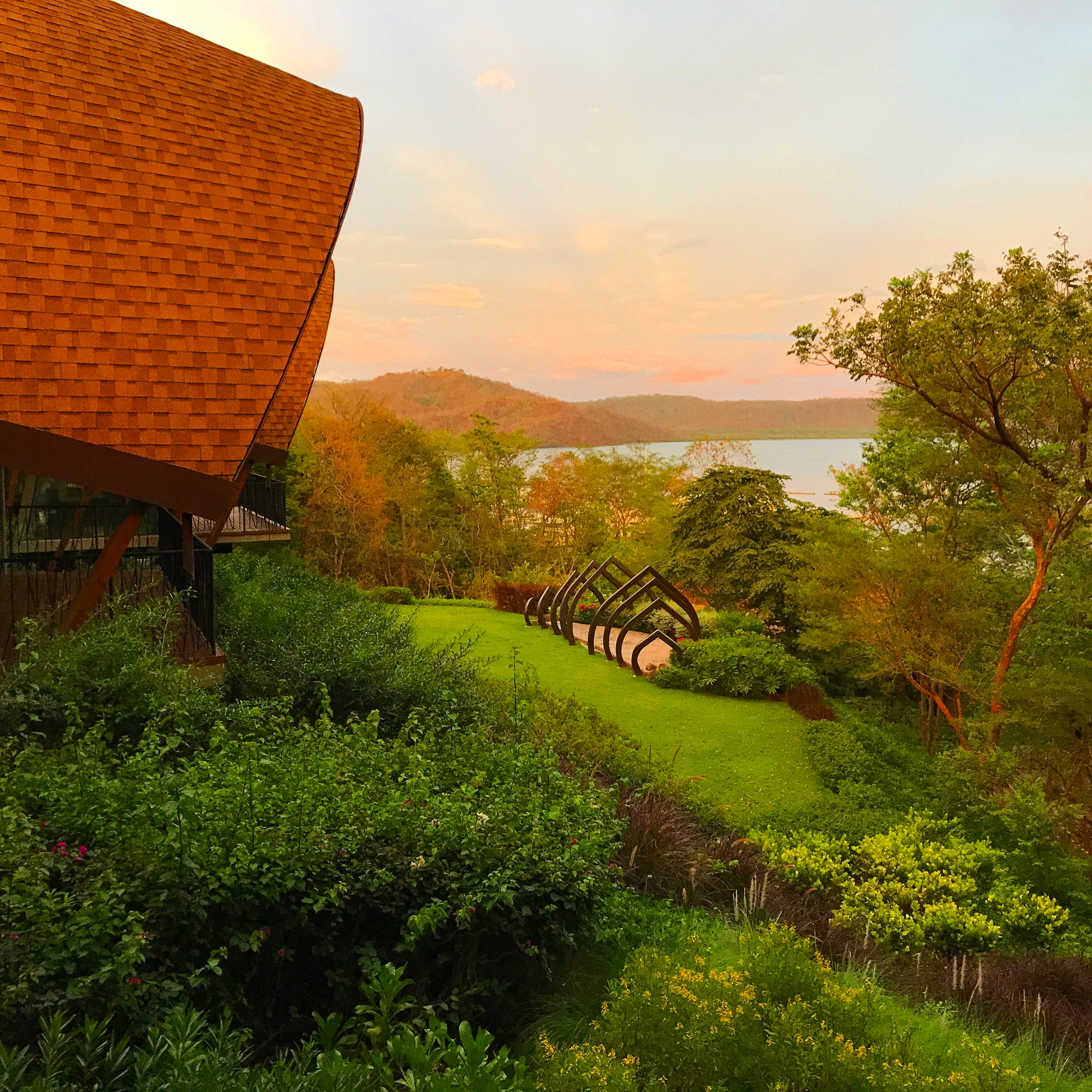 View from the Andaz Papagayo Lobby