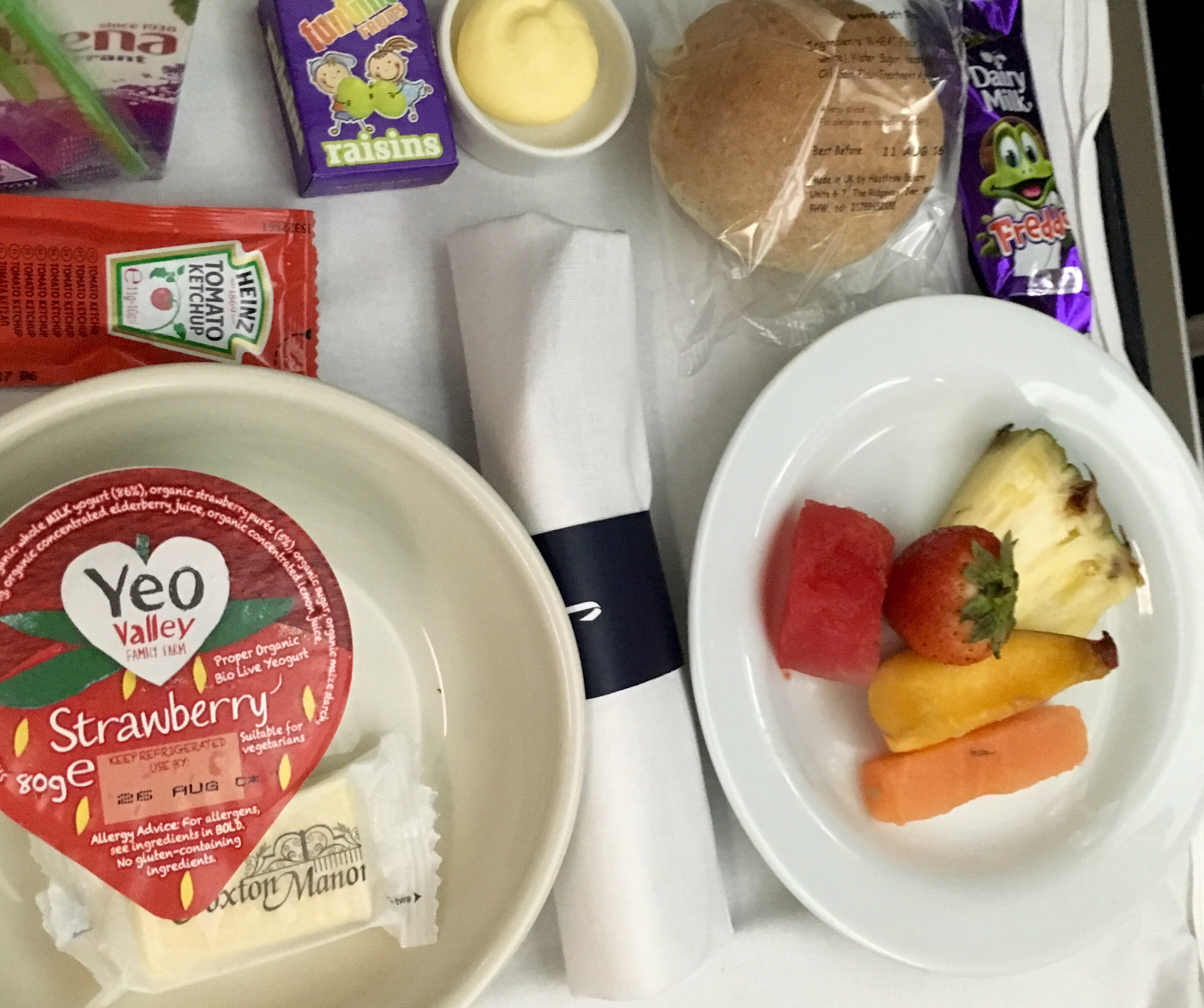A Look At British Airways Kids Meals