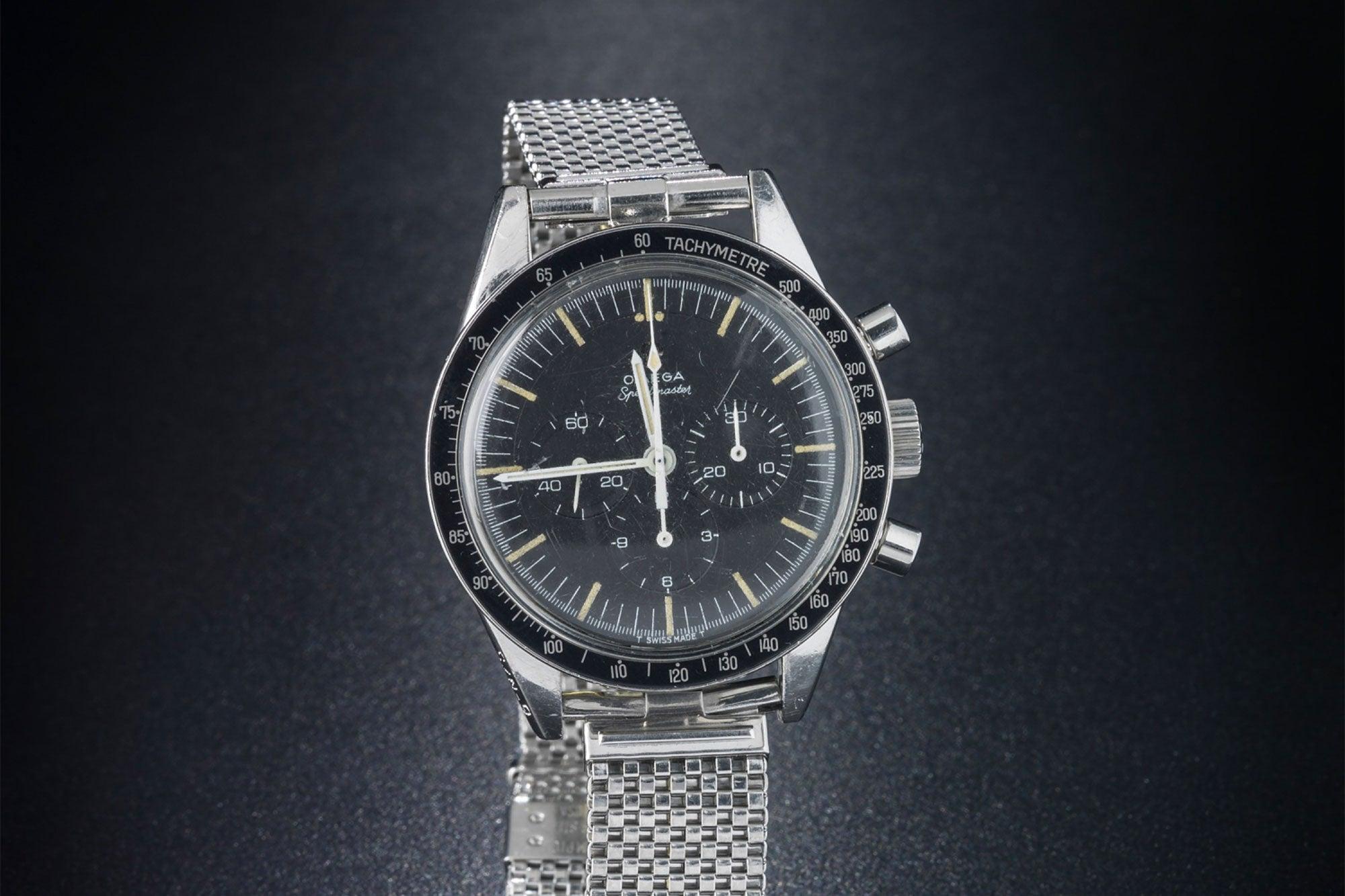 4e705441729 The Omega Speedmaster worn by Astronaut Gordon Cooper