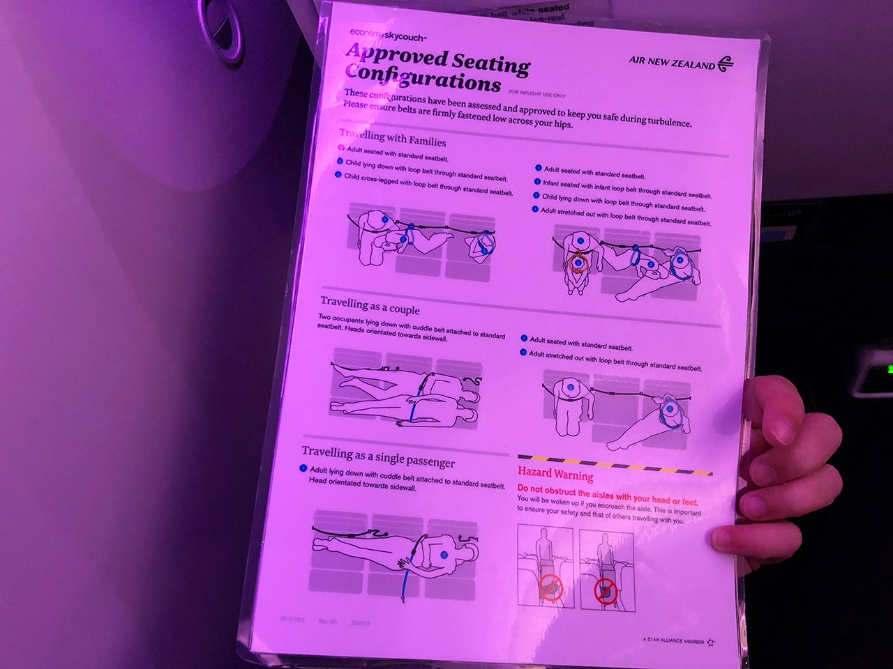 Business Lite Review Of Air New Zealand S Skycouch