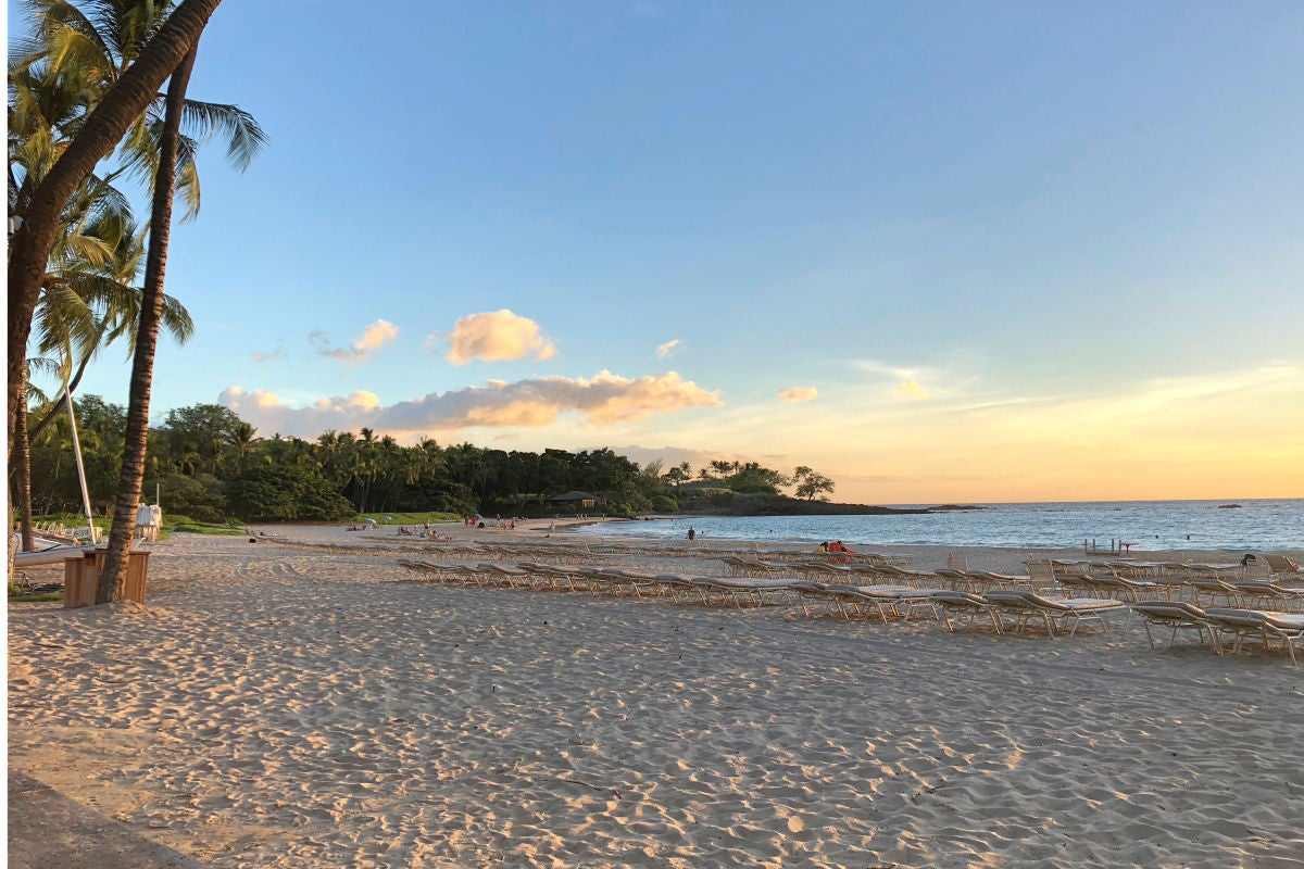 Hawaii Big Island with Kids - Mauna Kea Beach