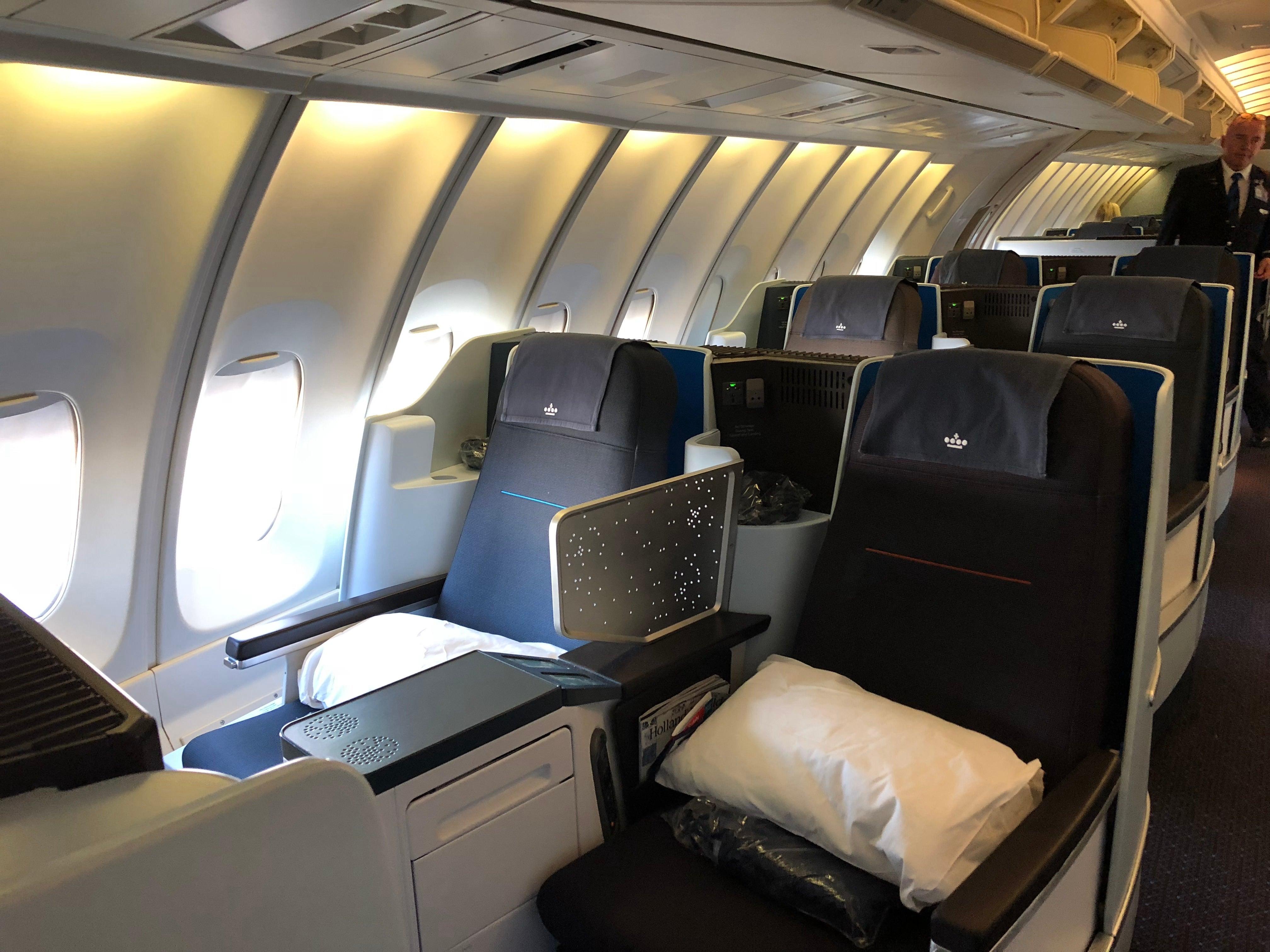 Klm 747 400 Business Class