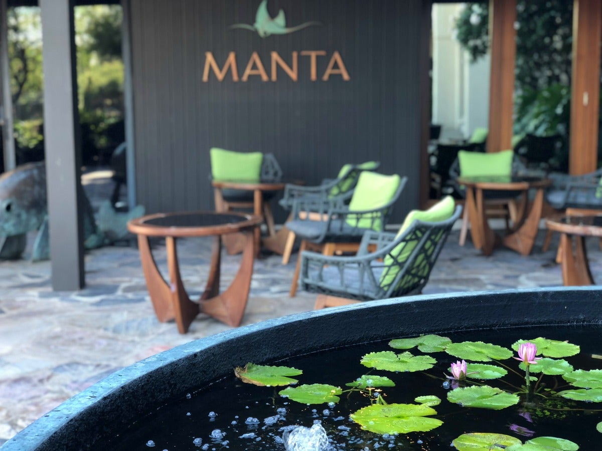 Mauna Kea Beach Hotel - Restaurante Manta