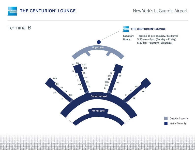 7 Centurion Lounges In 7 Days New York Lga Review