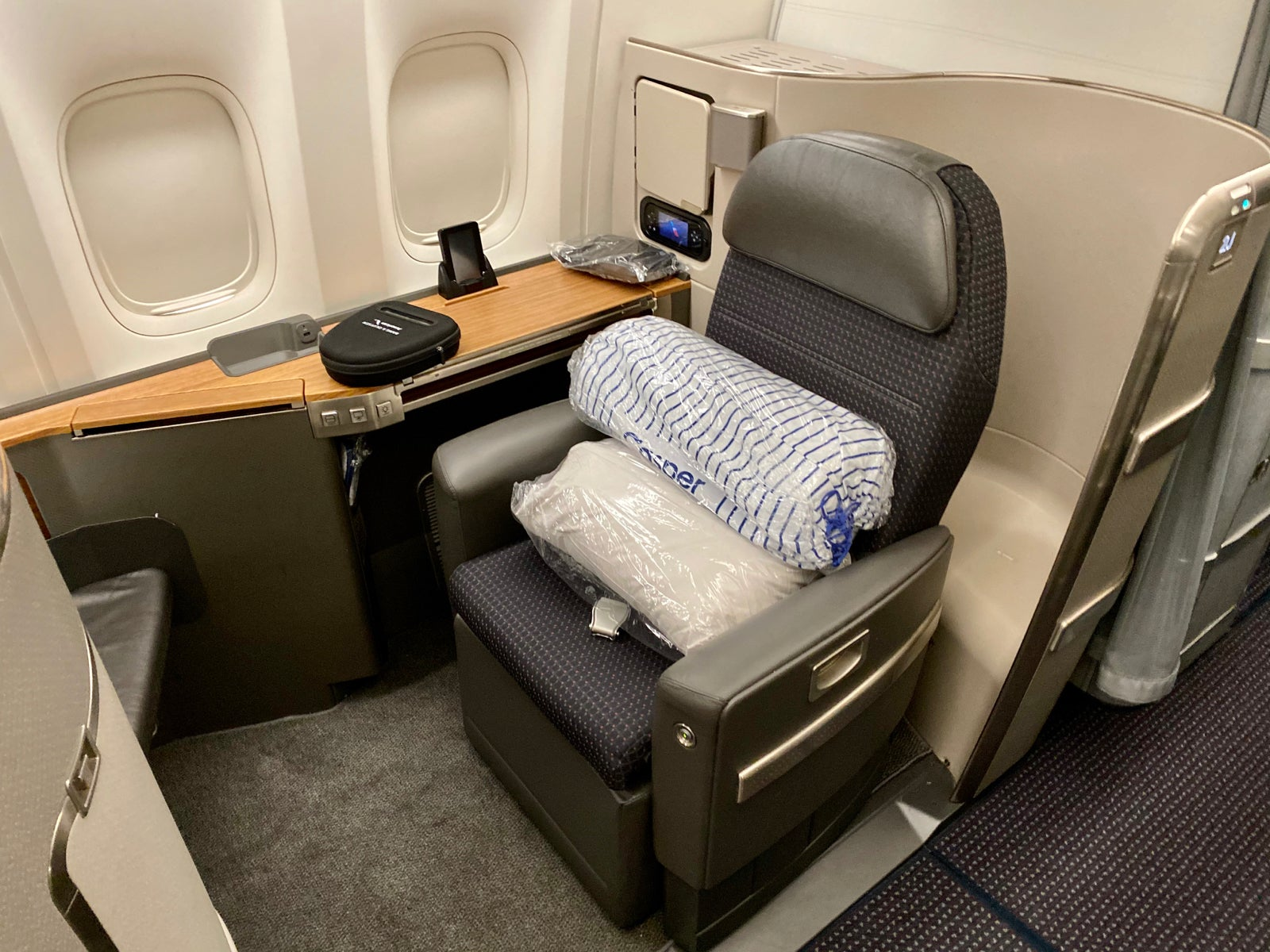 Flight Review American Airlines Flagship First Dallas Hong Kong
