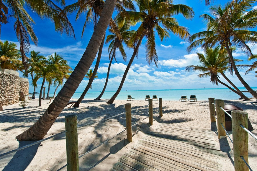 Walkway to the beach in Key West, Florida - Courtesy of Shutterstock