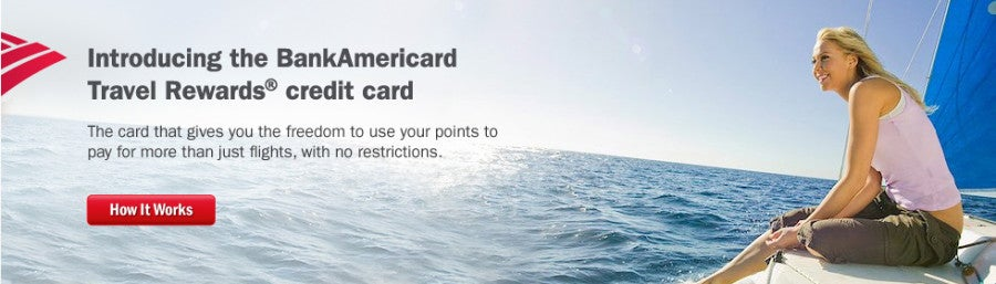 bank of america offers 15x points on all purchases with the travel rewards card - Travel Rewards Credit Card