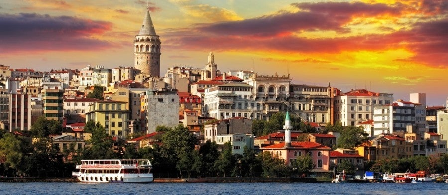 There are more ways to get to Istanbul than ever. Photo courtesy of Shutterstock.
